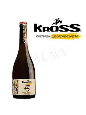 Cerveza Kross 5 Aniversario 750 cc
