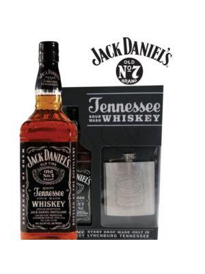 Jack Daniels N°7 + Licorera Jack Acero