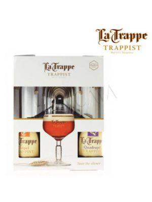 Cerveza La Trappe Pack con Copa
