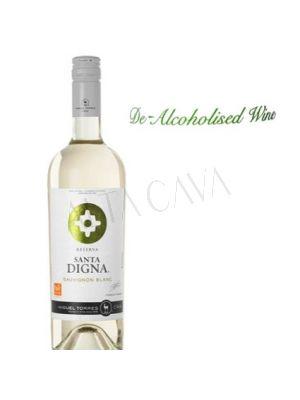 Santa Digna vino sin alcohol Miguel Torres Blanco