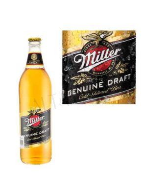 Cerveza Miller Genuine Draf  709cc