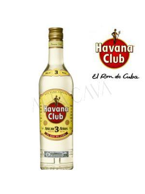 Havana Club 3 años Blanco 750cc