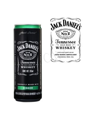 Jack Daniel's Ginger Lata 355cc