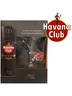 Havana Club Añejo 7 años +  Copa Daiquiri